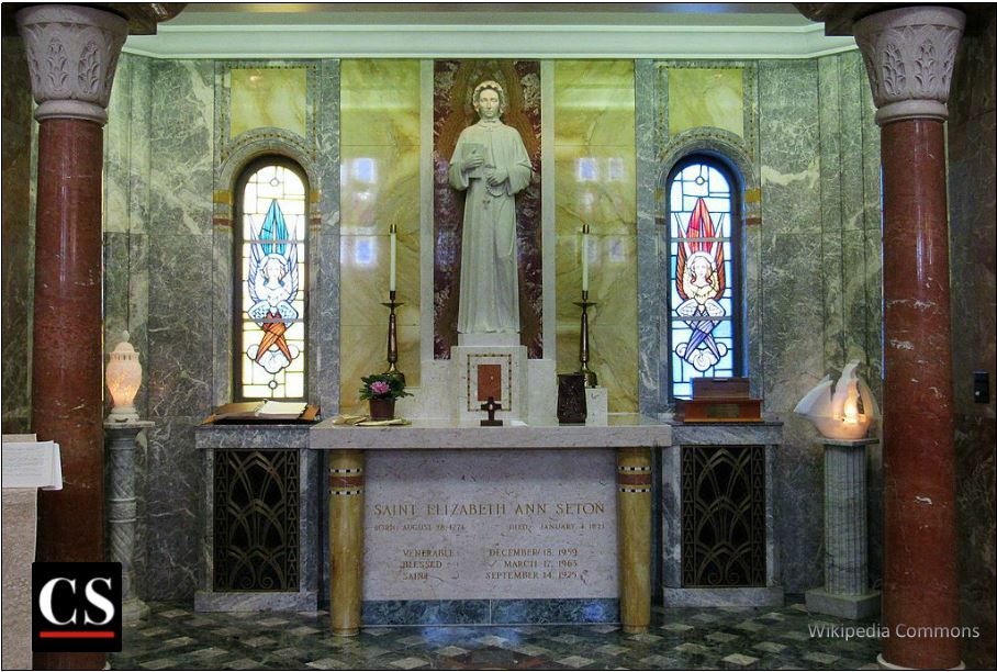 St. Elizabeth Ann Seton, Mother Seton