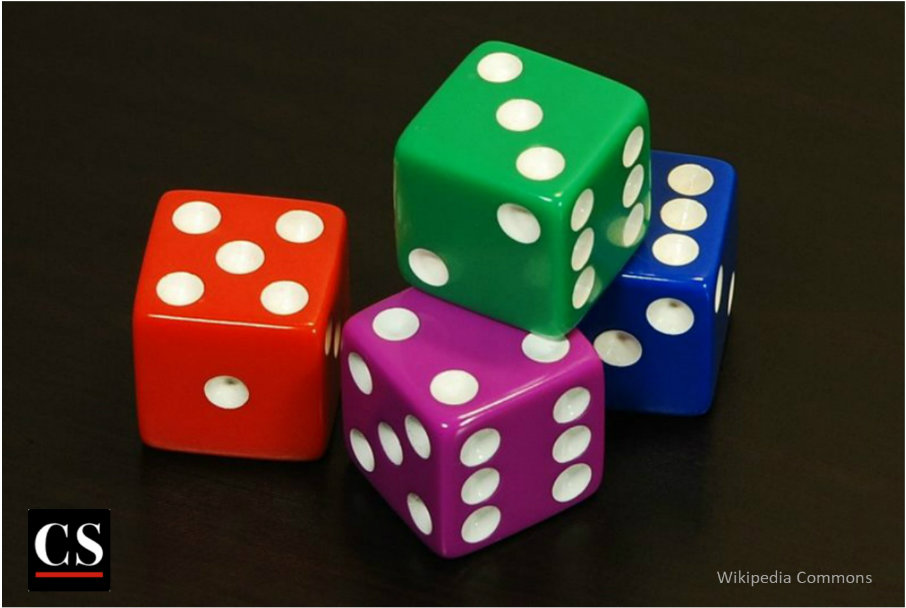 dice, probability