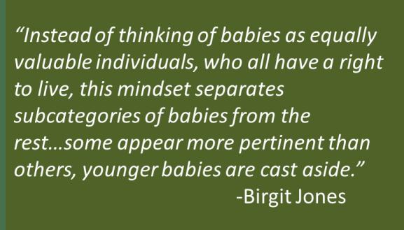 Birgit Jones - Pro-Life Victory