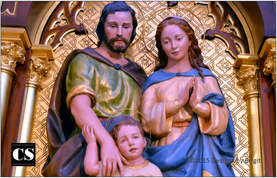 Birgit - holy family