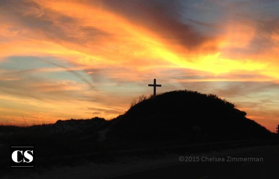 Chelsea - beach cross