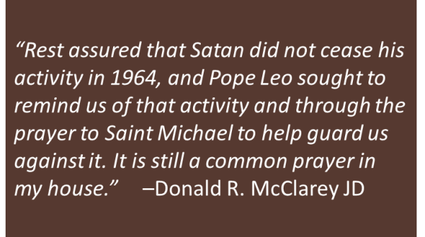 Donald McClarey - Saint Michael