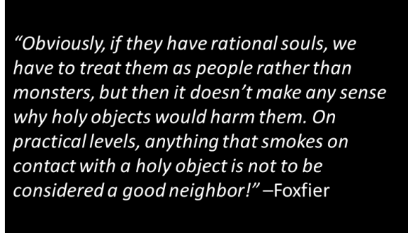 Foxfier - Vampires