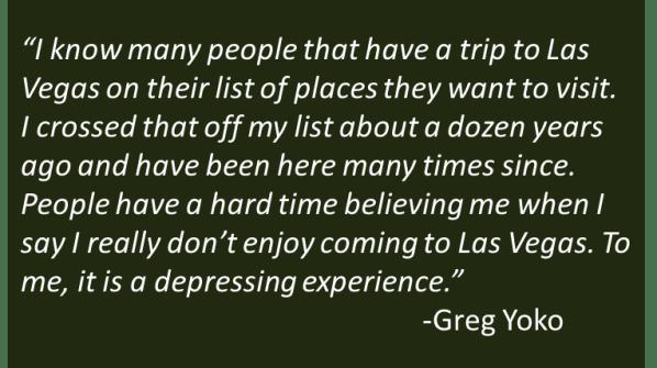 Greg Yoko - Las Vegas
