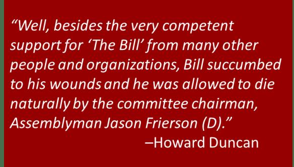 Howard Duncan - Bill