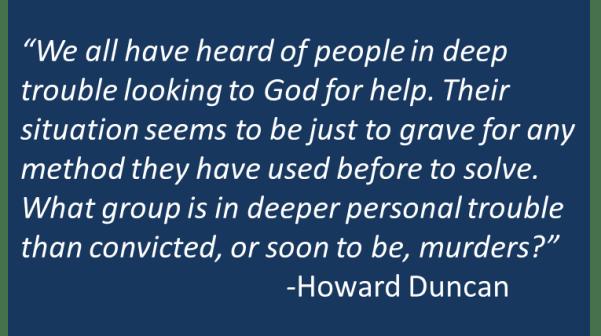 Howard Duncan - Ignore God