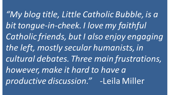 Leila Miller - Dialogue with Secularists