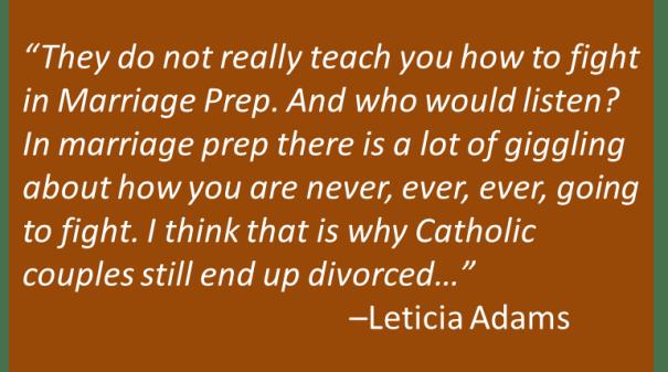 Leticia Adams - Marriage Prep