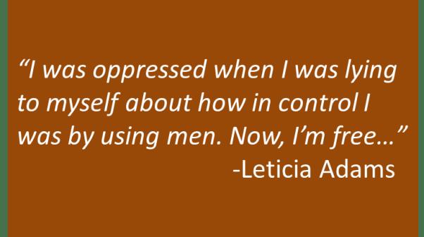 Leticia Adams - Power Struggle