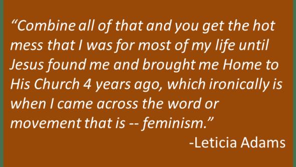 Leticia Adams - Submission