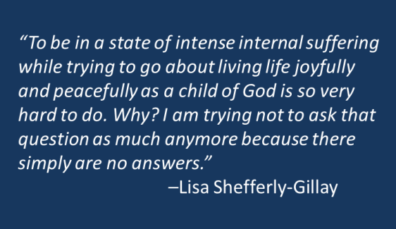Lisa Shefferly-Gillay - Suffering