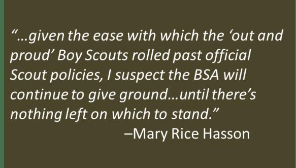 Mary Rice Hasson - BSA