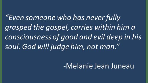 Melanie Jean Juneau - Atheists and Redemption