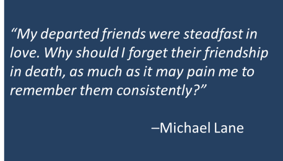 Michael Lane - Departed