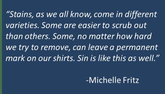 Michelle Fritz - Stain