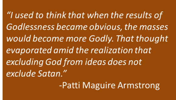 Patti Maguire Armstrong - Sanity, Holiness