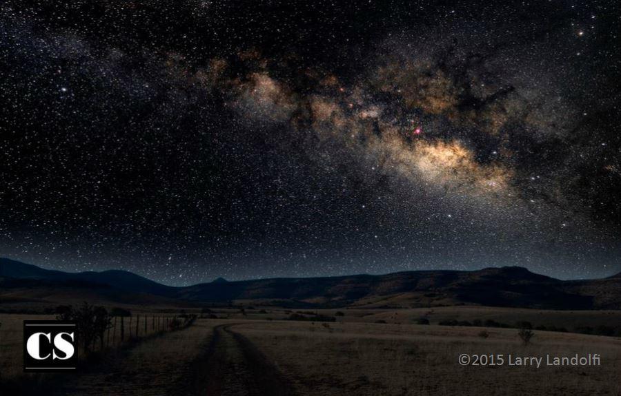 universe, milky way, creation, holy presence