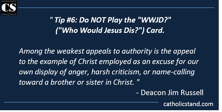 deacon jim russell lent 10 rules