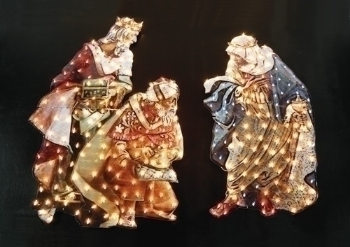 Christmas Outdoor Yard Decorations & Nativity Sets
