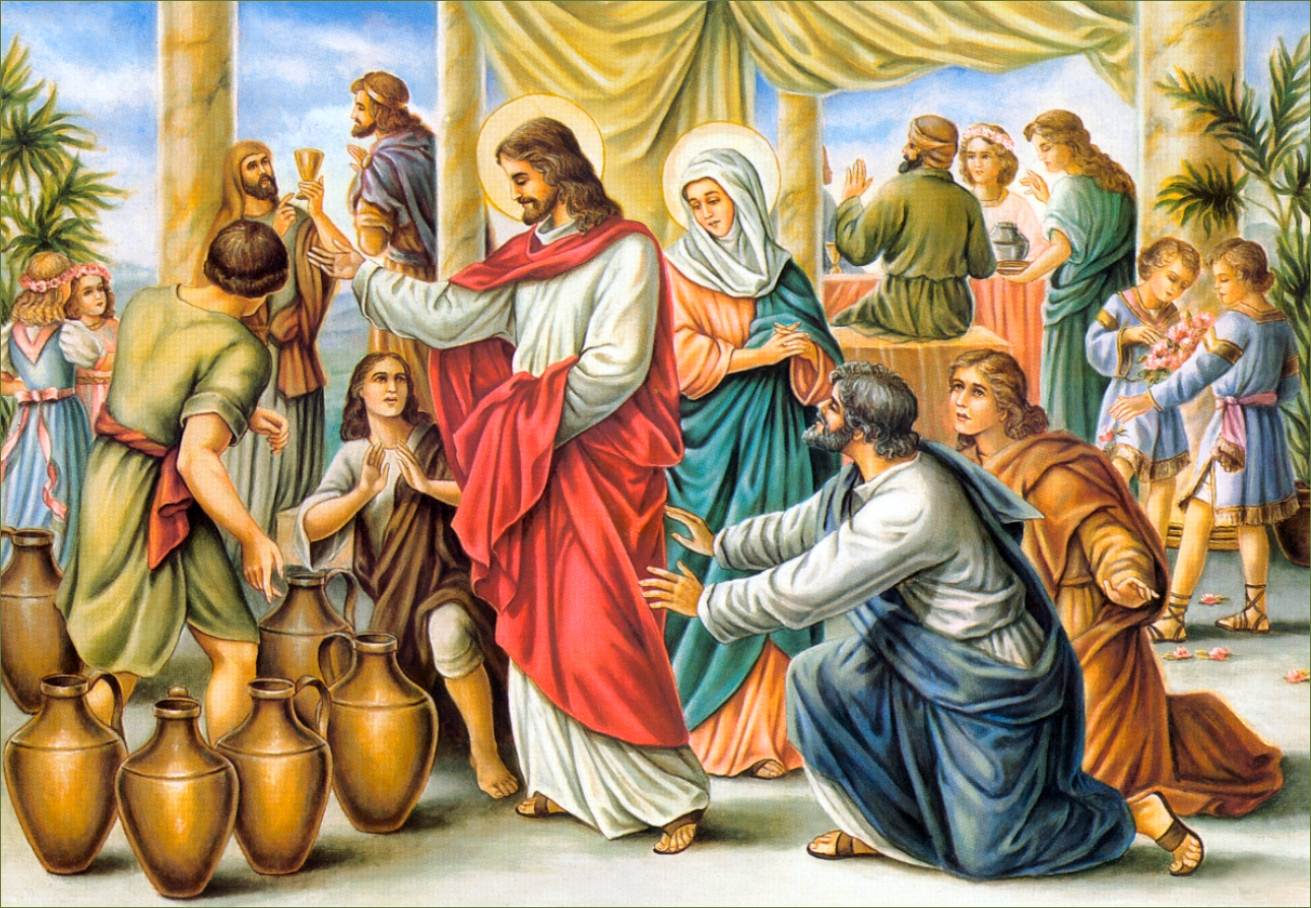 Image result for wedding feast of cana