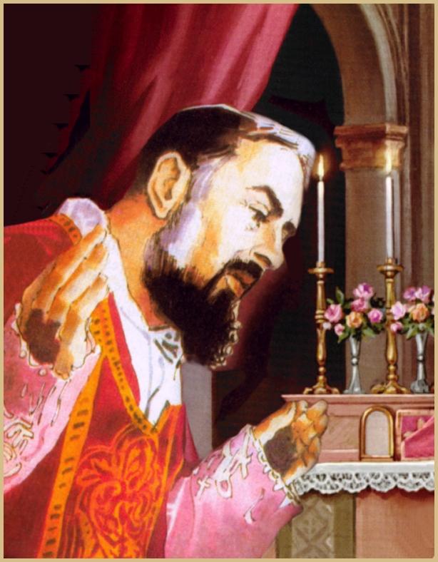 Padre Pio Stigmatist Priest