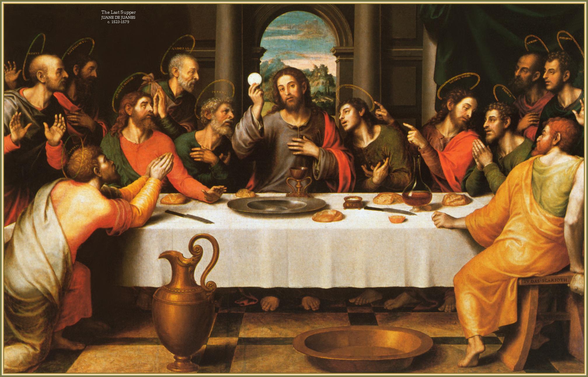 Image result for caravaggio the last supper