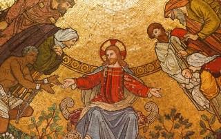 mosaique du Christ