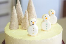 Red Velvet White Christmas Cake by Cath's Cookery Creations!