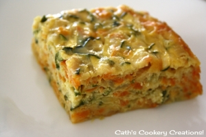 Zucchini Slice from Cath's Cookery Creations! | www.cathscookerycreations.com