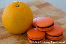 Jaffa Macarons from Cath's Cookery Creations! | www.cathscookerycreations.com