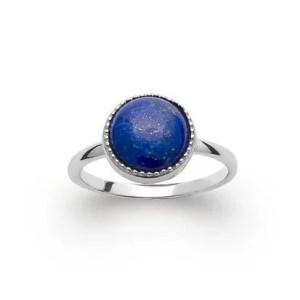 Bague Inaya Lapis Lazuli Argent