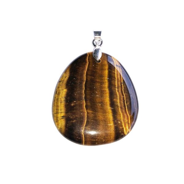 pendentif-oeil-de-tigre-pierre-plate