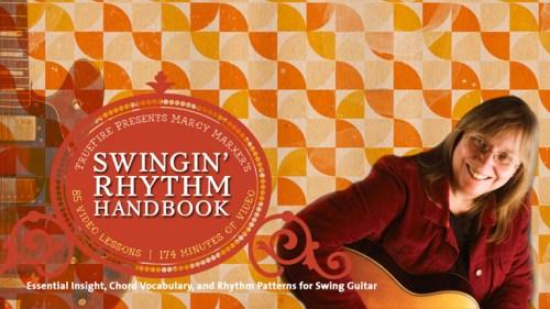 Marcy Marxer TrueFire Swinging Rhythm Handbook