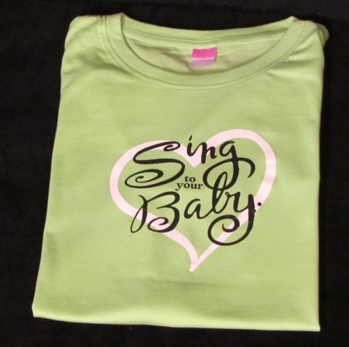 Sing To Your Baby Women's T-Shirt
