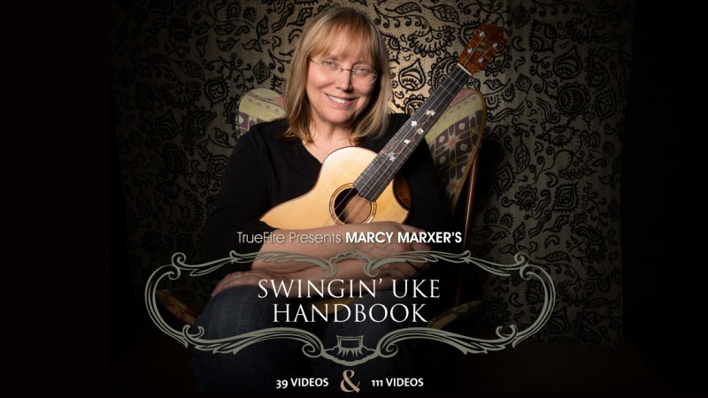 Marcy Marxer's Swinging' Uke Handbook Image