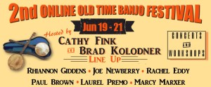 2nd Online Old Time Banjo Festival, June 19-21 @ Online Festival