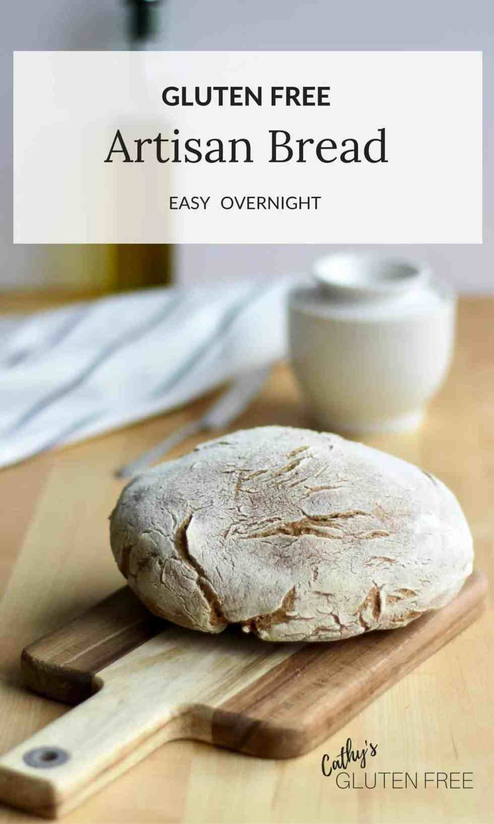 Artisan Bread for Restricted Diets | Gluten Free | Dairy Free | Nut Free | Soy Free | NIghtshade Free |CathysGlutenFree.com