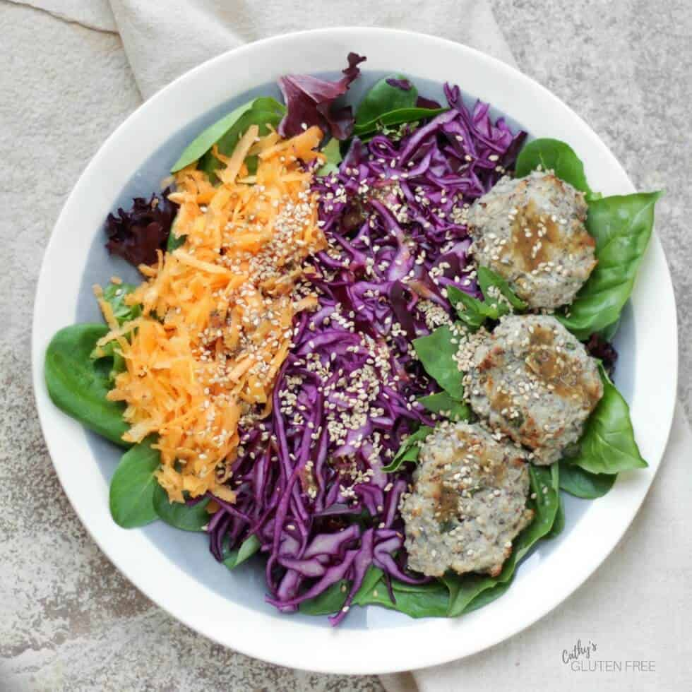 Turkey Burger Salad is just one of the ways to enjoy your batch of turkey burgers in the Elimination Diet Meal Plan.