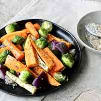 Gluten Free Everything Seasoning with Roasted Vegetables