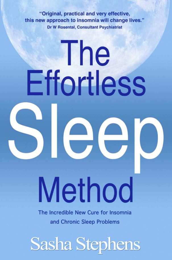 Effortless Sleep Method by Sasha Stephens book cover