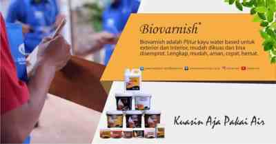 cat water based Biovarnish