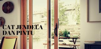 Cara Mengecat Kusen Jendela Dan Pintu Sendiri