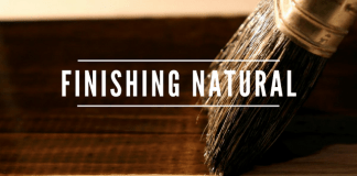 Tips Finishing Furnitue Warna Natural Kayu