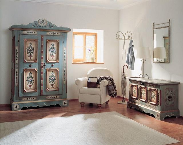Indahnya Furnitur Patina Pada Rumah Gaya Vintage