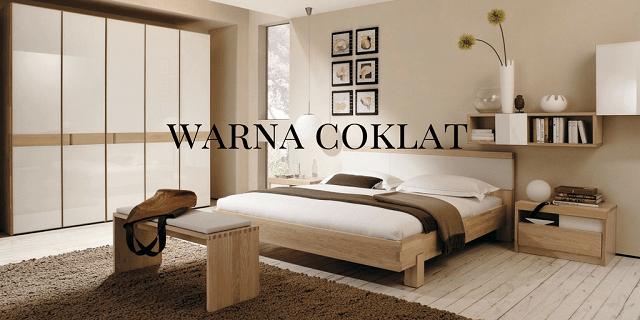 Memadupadankan Furnitur Warna Coklat di Kamar Tidur dan Ruang Tamu