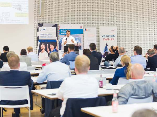 catkin bei Business Angels Tag in Frankfurt