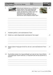Schulaufgaben Natur Und Technik Klasse 6 Gymnasium Catlux
