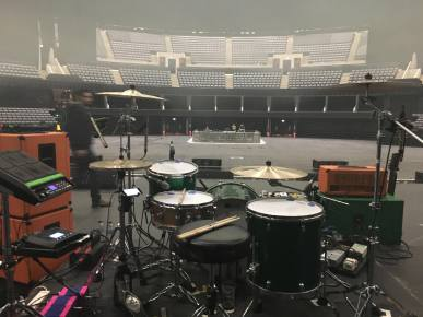 Mogwai Set-up! Glasgow Hydro