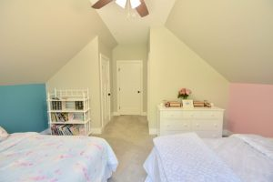pitched roof bedroom remodel
