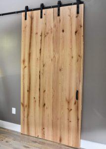 custom wooden sliding barn door